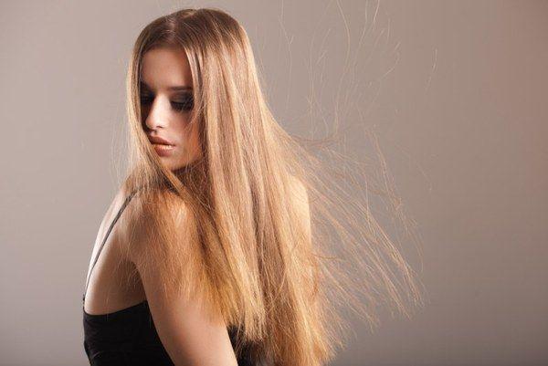 Маска від електризації волосся взимку