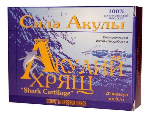 Акулячий хрящ: морський дар для здоров`я