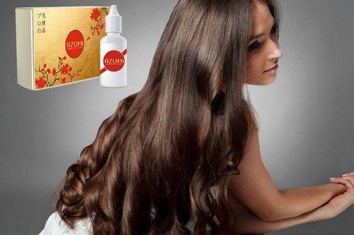 Azumi - ефективний засіб по відновленню волосся, перешкоджає їх випаданню