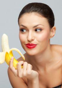Маска з банана для обличчя