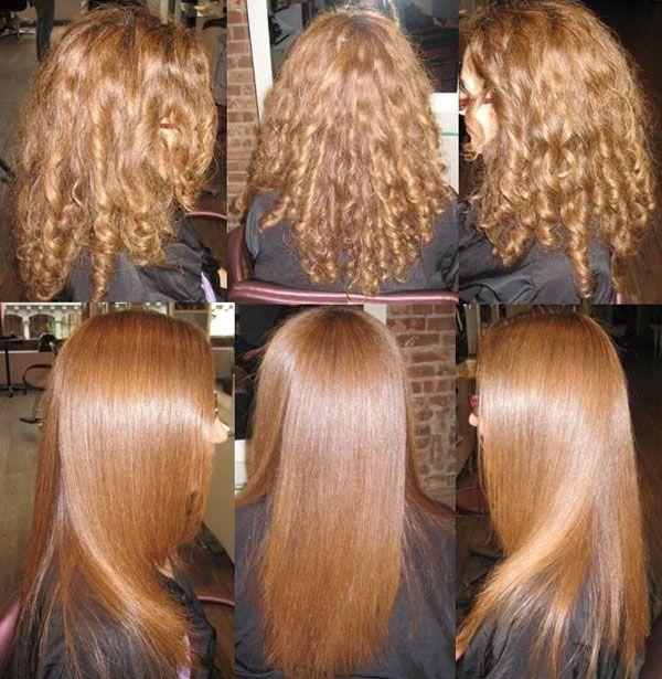 Бразильське вирівнювання волосся