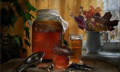 Чайний гриб для схуднення