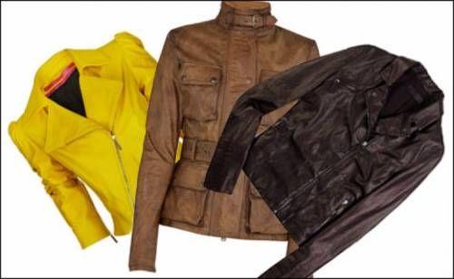Чистимо шкіряну куртку будинку