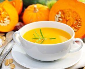 Апельсиново-гарбузовий суп
