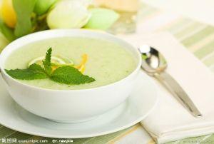 Динний суп з ківі