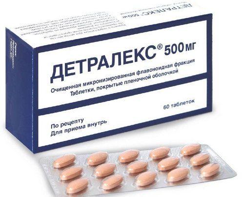 Детралекс - незамінний засіб для лікування геморою