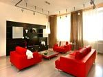 Дизайн інтер`єру вітальні: тон, освітлення, меблі і інше