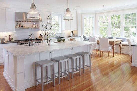 Дизайн кухні з еркером: планування і зонування