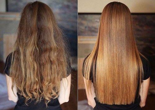 Домашнє кератіновие випрямлення волосся