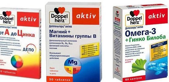 «Доппельгерц актив магній плюс вітаміни групи в»: склад і особливості застосування біодобавки