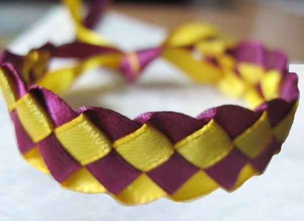 Фенечки з стрічок: схеми плетіння
