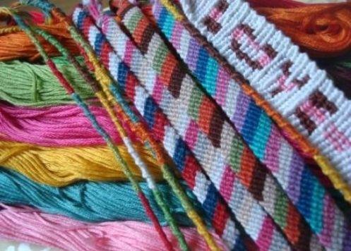 Фенечки з муліне: схеми плетіння. Плетіння фенечек з муліне