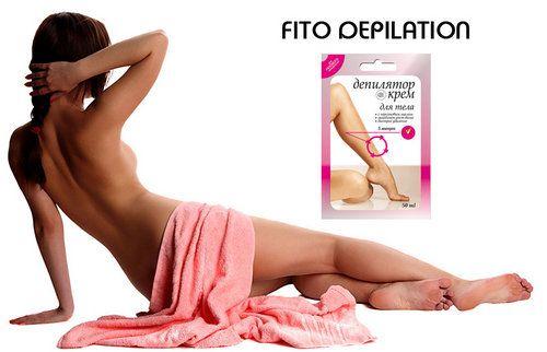 Fito depilation: склад і застосування крему в домашніх умовах