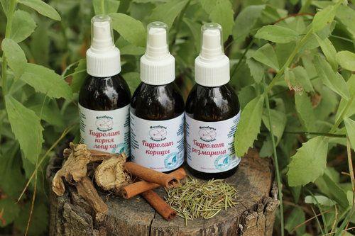 Гідролат - вода з рослин для твоєї краси і здоров`я