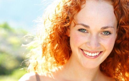 Хна для волосся: золотистий відтінок