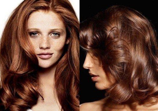Хна для волосся: шоколадний відтінок