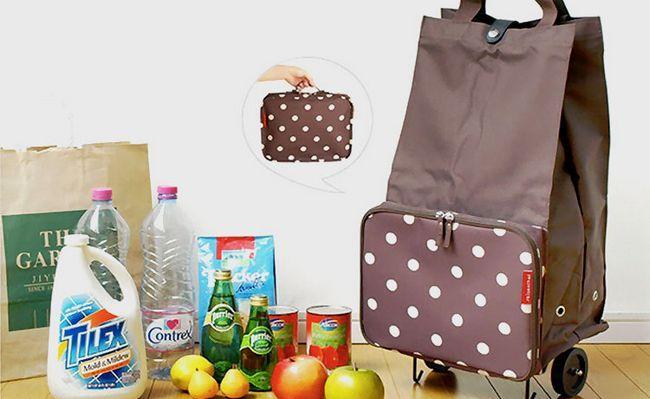 господарська сумка на коліщатках