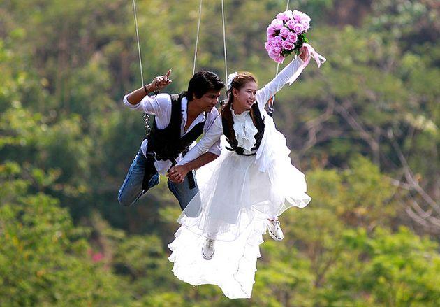 Ідеї   для весілля в день святого валентина