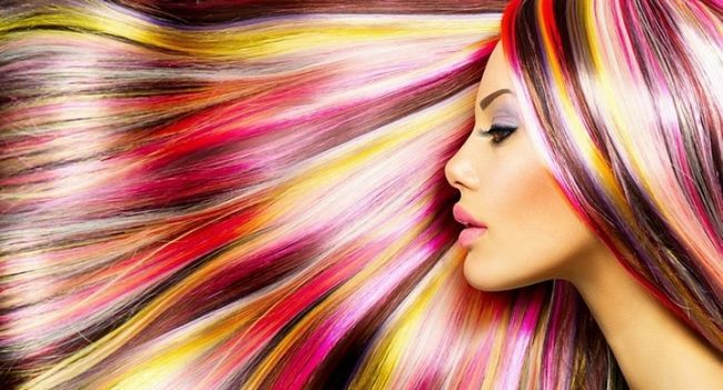 Використовуємо крейда для волосся в домашніх умовах
