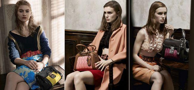 Італійські жіночі шкіряні сумки від Miu Miu