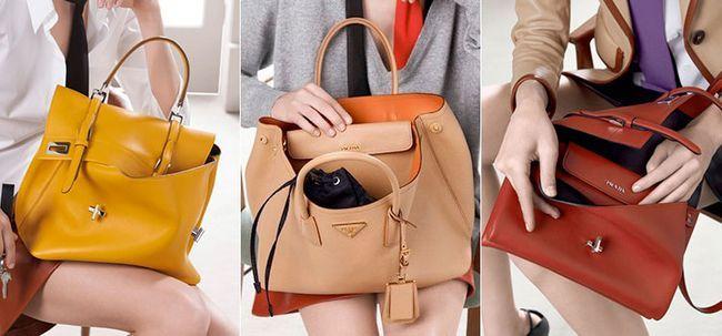 Італійські жіночі шкіряні сумки від Prada