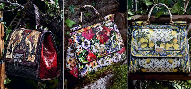 Італійські жіночі шкіряні сумки від Dolce Gabbana
