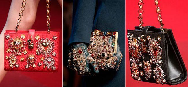 Італійські жіночі шкіряні сумки від Dolce Gabbana 2017