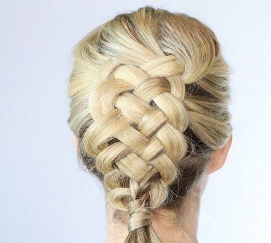 З 5 пасом коса: схеми плетіння і покрокова інструкція