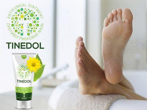 Позбутися від грибка стопи допоможе крем tinedol (тінедол)