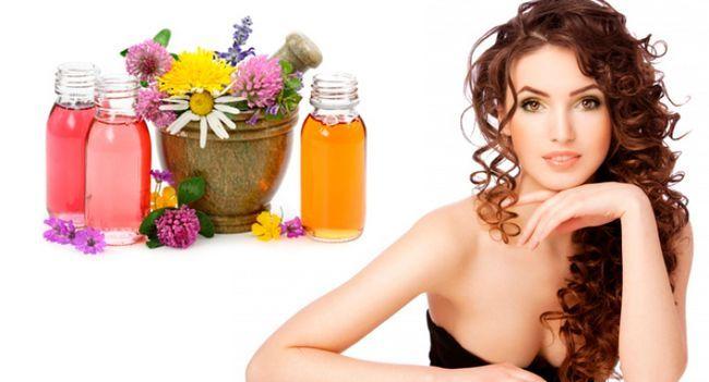 Ефірна олія для волосся - косметика, подарована природою