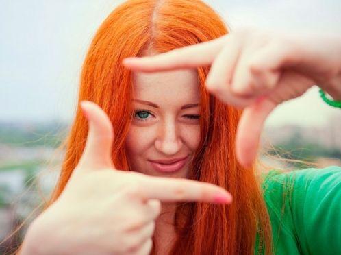 Як можна позбутися від рудого волосся