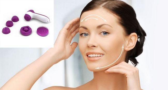 Як використовувати масажер для обличчя вдома?