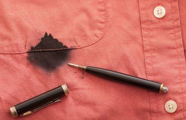 Як відіпрати ручку з одягу?