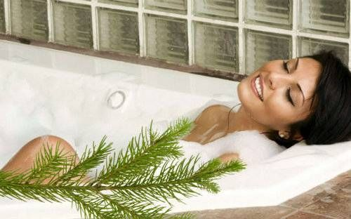 Як за допомогою хвойних ванн поліпшити здоров`я і красу?