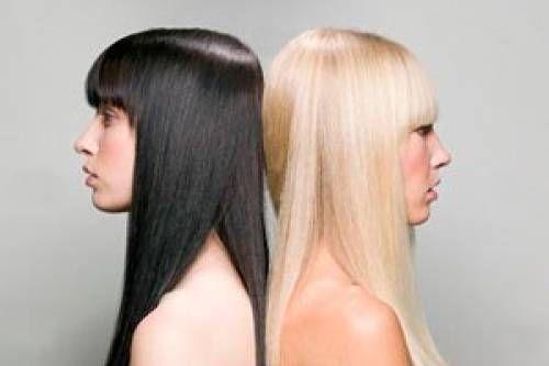 Як темне волосся перефарбувати в світлі