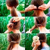 Які швидкі зачіски своїми руками зробити в домашніх умовах