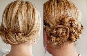 Які легкі зачіски на кожен день на середні волосся можна зробити своїми руками