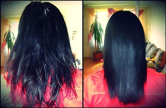 Відгуки про Кератиновое відновлення волосся в домашніх умовах