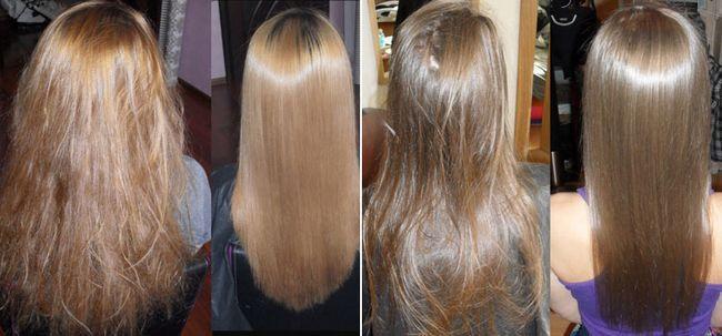Кератиновое відновлення волосся в домашніх умовах