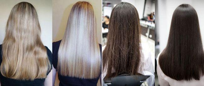 Професійне кератіновой відновлення волосся