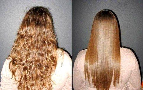 Кератинове вирівнювання волосся в домашніх умовах: етапи і результат