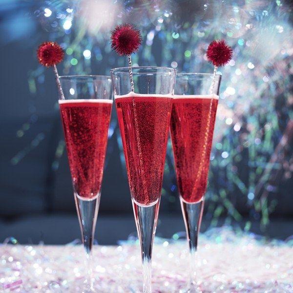 Коктейлі з шампанським