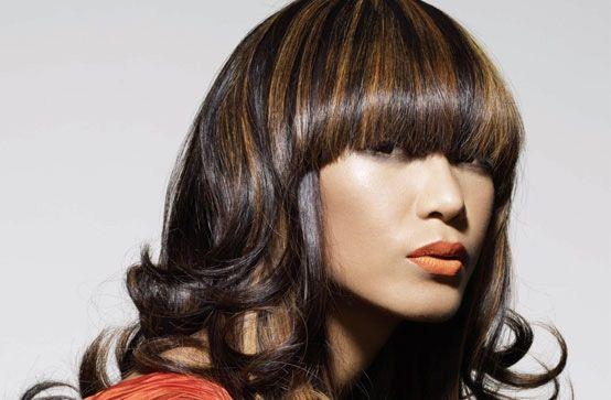Колорування на темне волосся