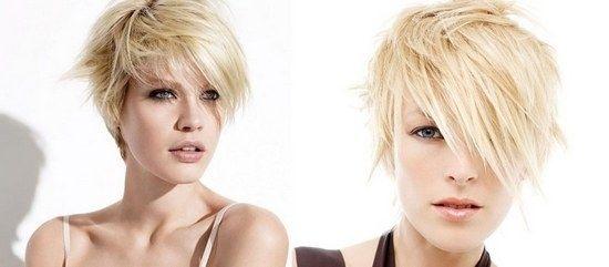 Короткі стрижки та кращі укладання на тонке волосся
