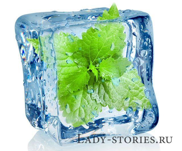 Косметичний лід на травах