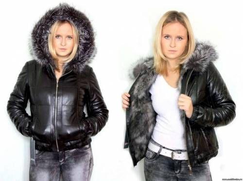 Шкіряна куртка з хутром - кращий вибір