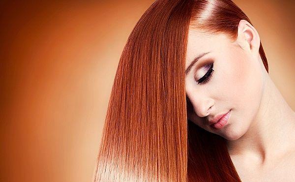 Креативне випрямлення волосся