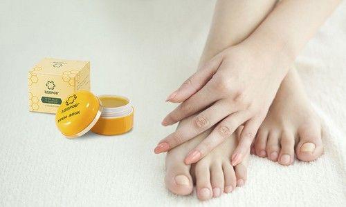 Лікування грибка стопи натуральним крем-воском «здоровий»