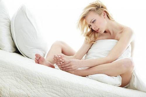 Лікування натоптишів на ногах