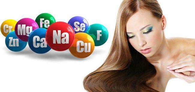 комплекс кращі мінерали і мікроелементи для росту волосся у жінок